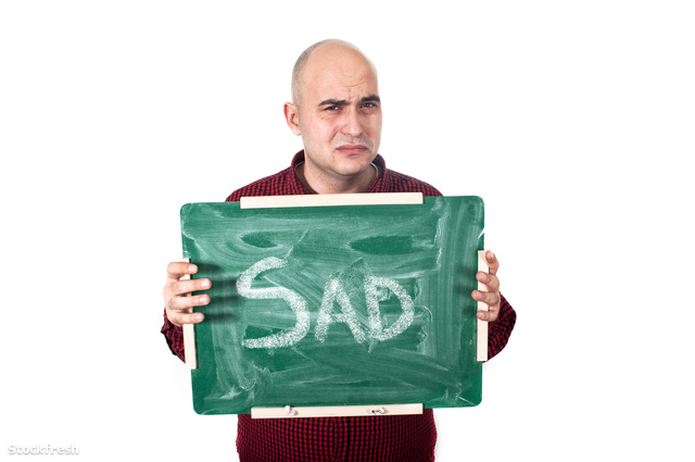 stockfresh 2422349 sad-man-with-chalkboard sizeM