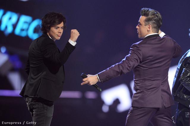 Robbie Williams és Swift exe, Harry Styles