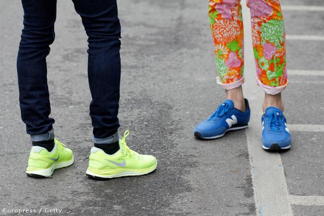 Nike és New Balance, a szezon két sztárja.