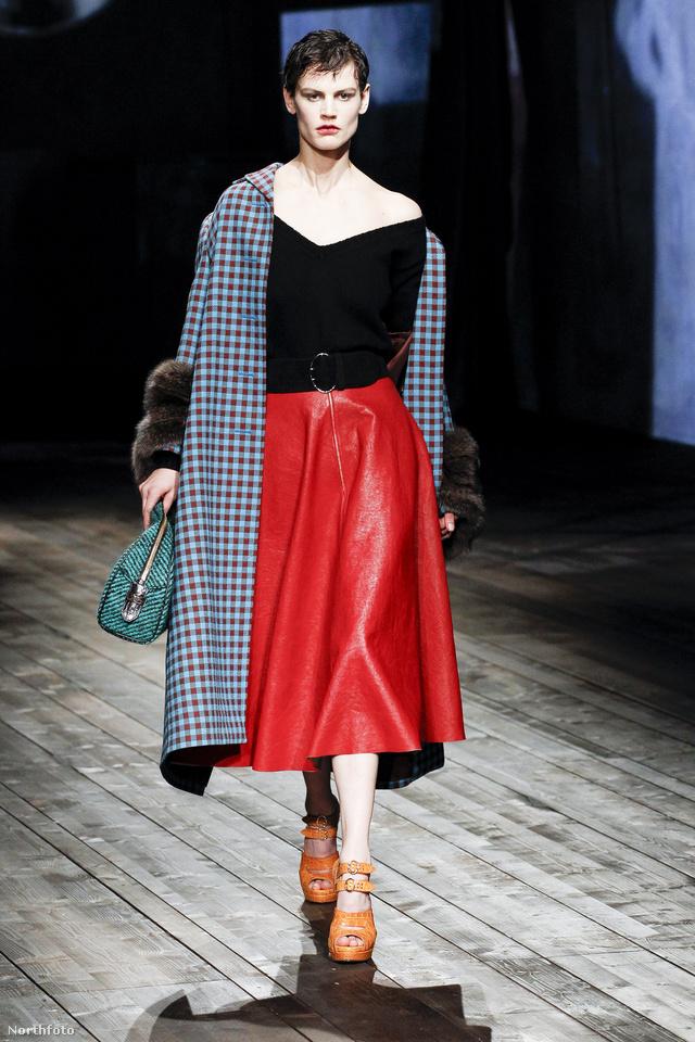 Miuccia Prada még mindig retroban utazik