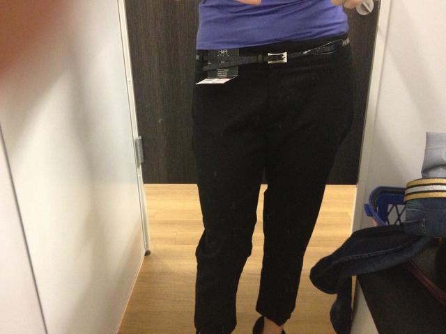 F&F fekete nadrág 1770 forint