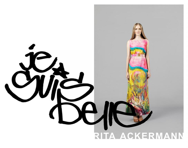 Rita Ackermann ihlette kollekció a Je Suis Belle-től