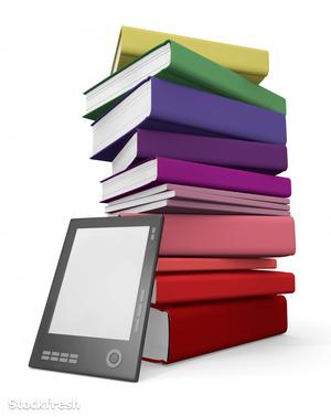 stockfresh 497270 digital-and-paper-library sizeM