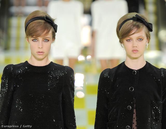 A Louis Vuitton és a fekete masnis hajpánt találkozása.
