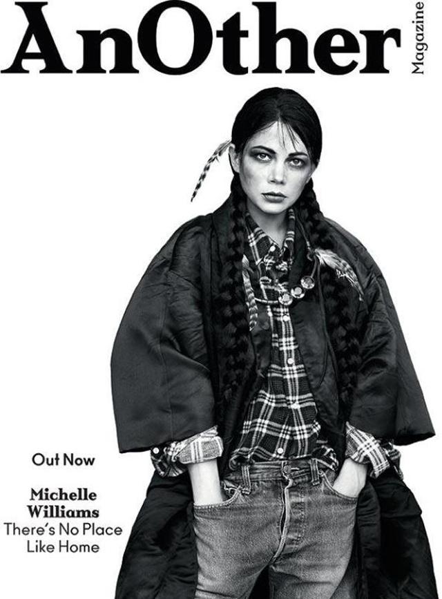 Michelle Williams mint csöves indiánlány, ami sértő.