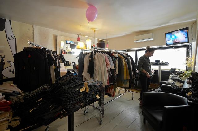 Fashion Bar: a női részleg jóval zsúfoltabb