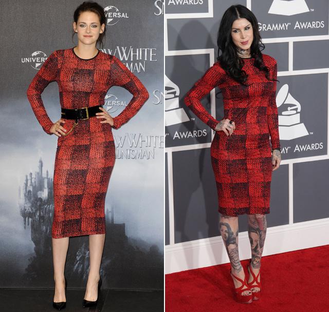 Kristen Stewart vs. Kat von D
