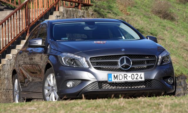 Valójában azt nyújtja, mint bármelyik kompakt, csak Mercedes-csomagolásban