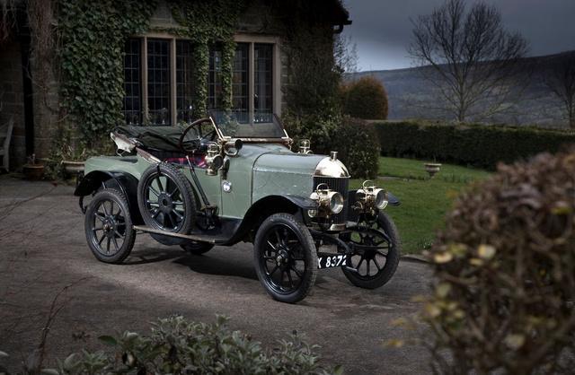 Morris Oxford 10HP - Az első autó, melyet itt gyártottak (1913-1926)