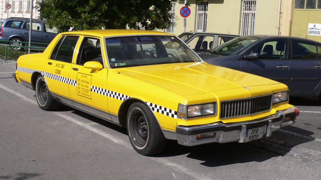 The Caprice had no chance to be adored - not after the Checker