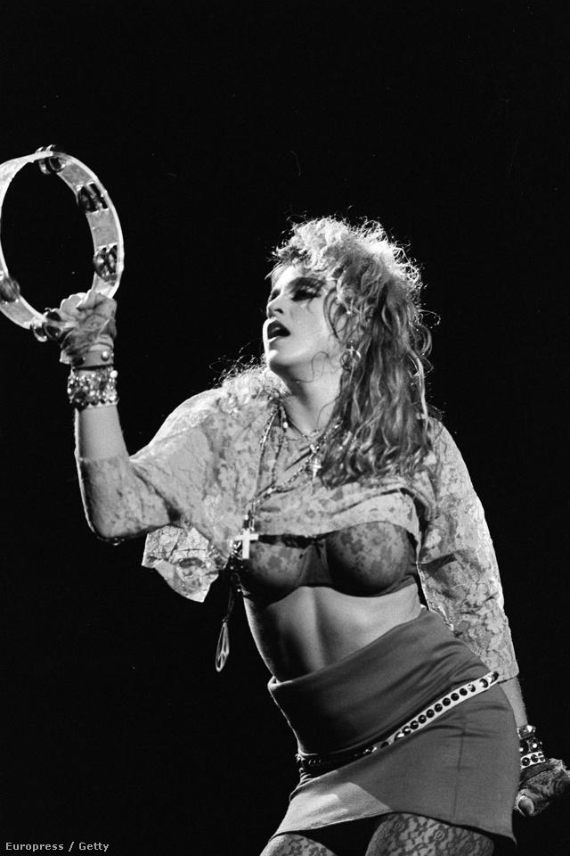 Madonnában volt kraft a nyolcvanas években