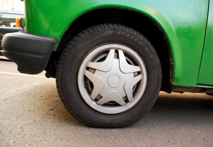 Diplomatic hubcap