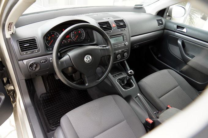 A VW interior will never surprise you