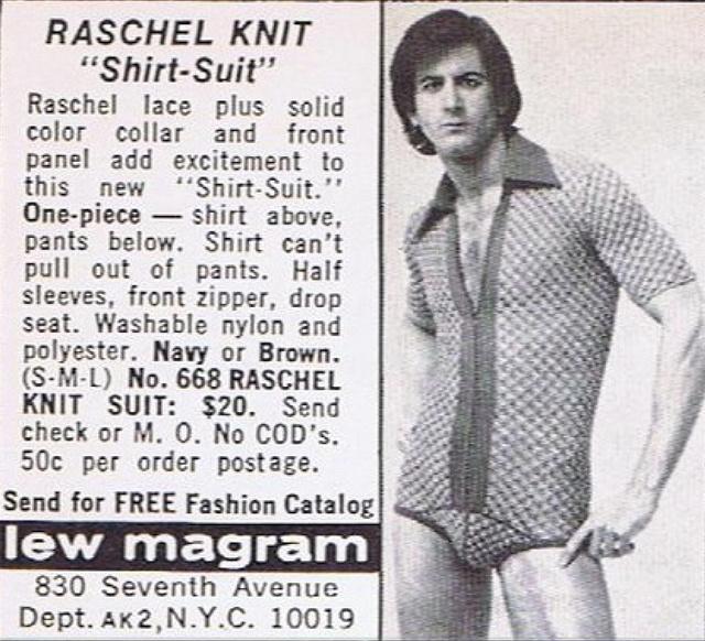 Csicsásabb és szűkebb fazon volt menő a hetvenes években.