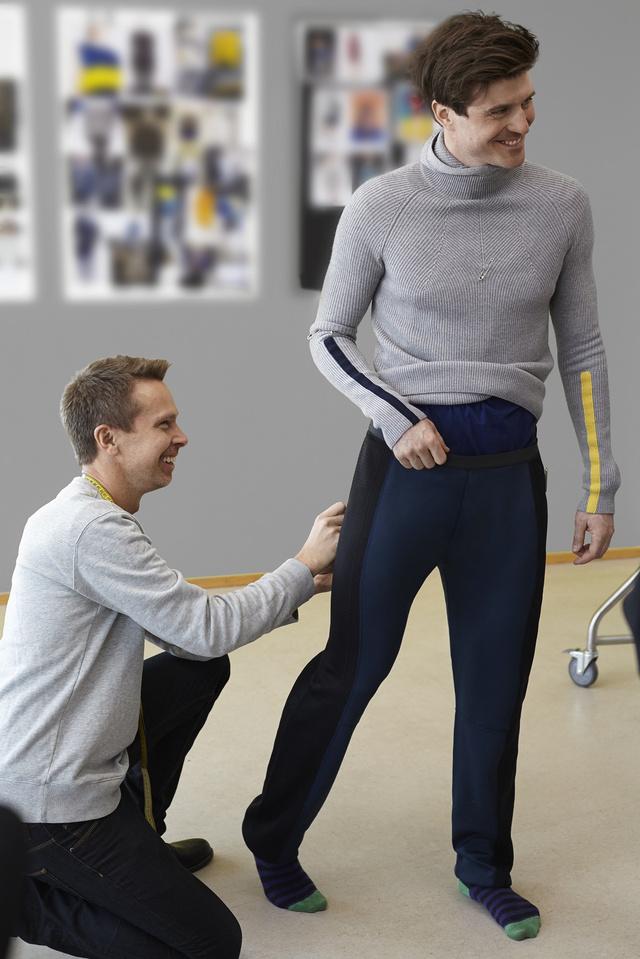 Ruhapróba a H&M-nél, ők biztosítják a svéd válogatott öltözékét a 2014-es téli olimpiára