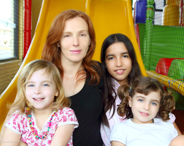 stockfresh 927345 ethnic-mixed-family-mother-and-daughters sizeM