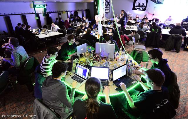 A Chaos Computer Club éves hekkertalálkozó Hamburgban, 2012. decemberében