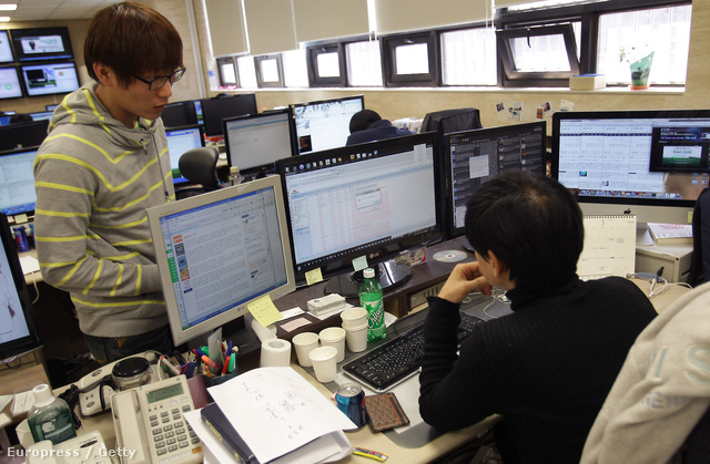 A dél-koreai Hauri IT biztonsággal foglalkozó cégnél feltételezhetően kínai és észak-koreai eredetű támadások elhárításán Szöulban
