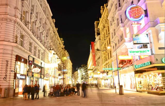 Bécs belvárosában mintha nagyobb lenne a gyerekboltok választéka, mint nálunk
