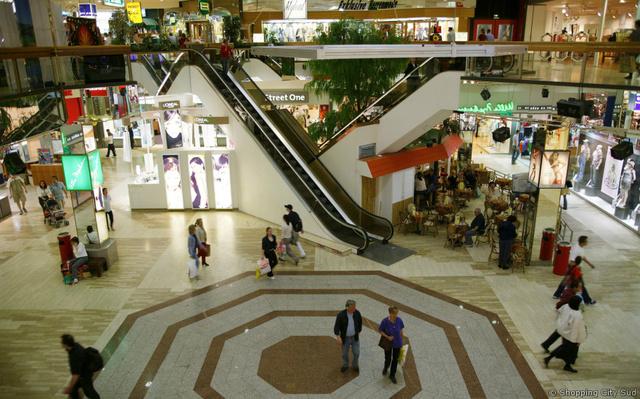 A Shopping City Südben egy napot is el lehet bolyongani