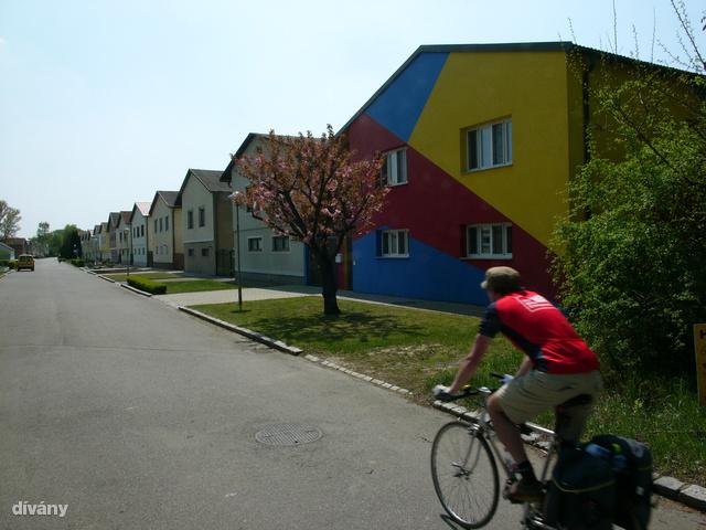 Osztrák falvakon át vezet a B10-es bicikliút.