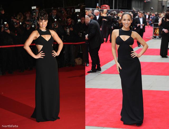 Alicia Keys és Myleene Klass ugyanazt a ruhát vette fel a vörös szőnyegre, a styling is majdnem ugyanolyan minimál volt.