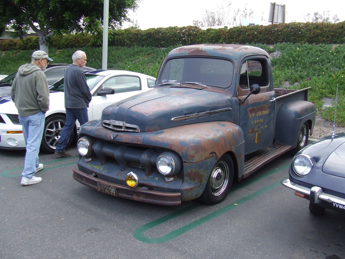 Thank the Californian sun for this awesome patina