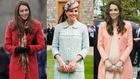 Nézze meg Katalin hercegné terhesruháit!