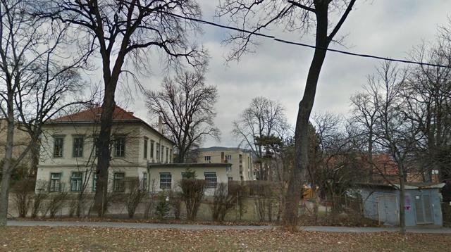 A Labanc utcai ingatlan a Google utcatérképén