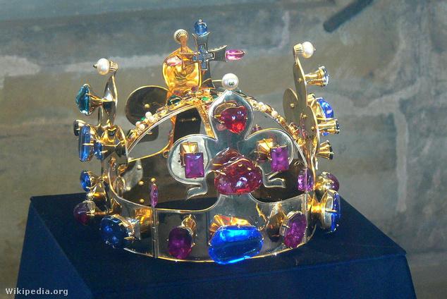 A Szent Vencel-féle királyi korona másolata