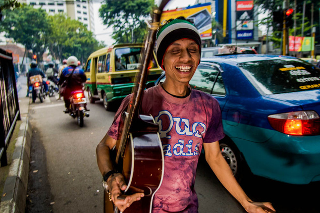 Az élet Bandungban