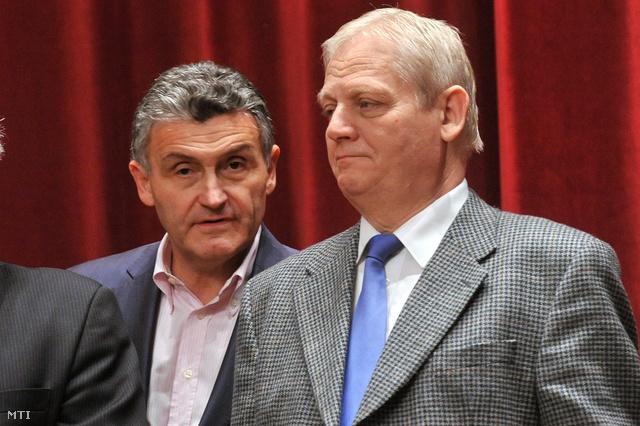 Pető György Budapest Főváros Közterület-felügyeletének (BFKF) igazgatója és Tarlós István főpolgármester.