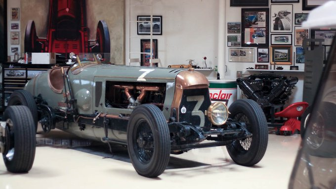 The 1917 Fiat Botafogo Special, named after a famous racehorse