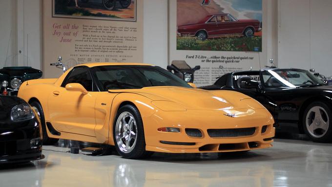 Corvette C5 prototype