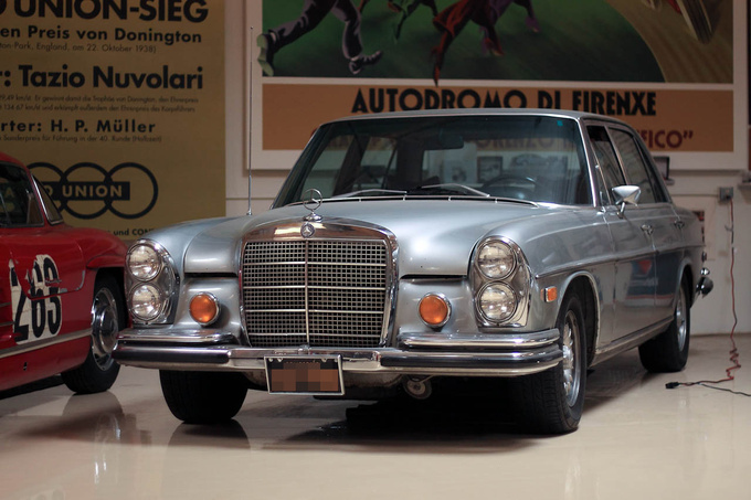 The 300 SEL 6.3 (W109) soon to be upgraded with a 600 PS engine