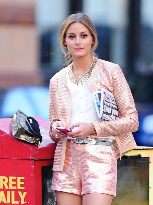 Olivia Palermo rózsaszín rövidnadrágja sem hiánycikk a fast-fashion boltokban