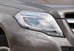 Intelligens fényszórók ledes nappali fénnyel