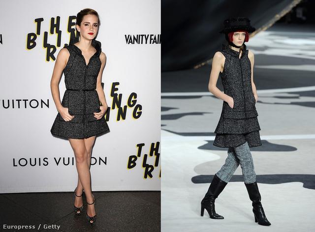 Ugyanazon ruha nyárias és télies verziója. Önnek melyik jön be jobban?