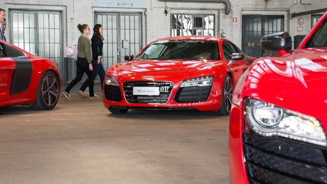 Összesen tíz példányt készítettek a legfejlettebb Audi R8 e-tron legfejlettebb változatából. Nem lesz belőle szériamodell