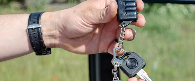 A kulcstartó egyidős az autóval