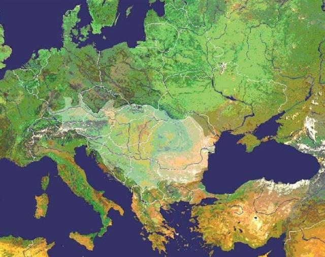 A Duna vízgyűjtőterülete