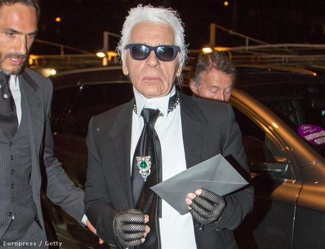 Ki ne ismerné Karl Lagerfeldet?