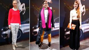 Így öltöznek fel a divatmániások a berlini divathétre