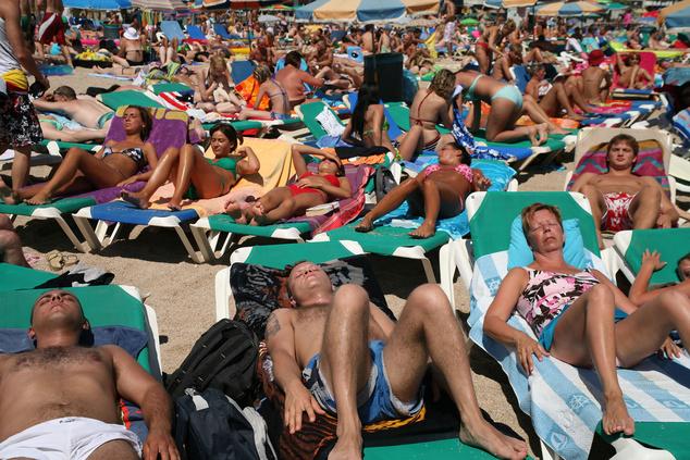 Lloret de Mal nyári napjai