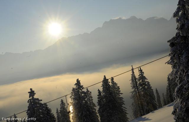 Napfelkelte Garmisch – Partenkirchenben
