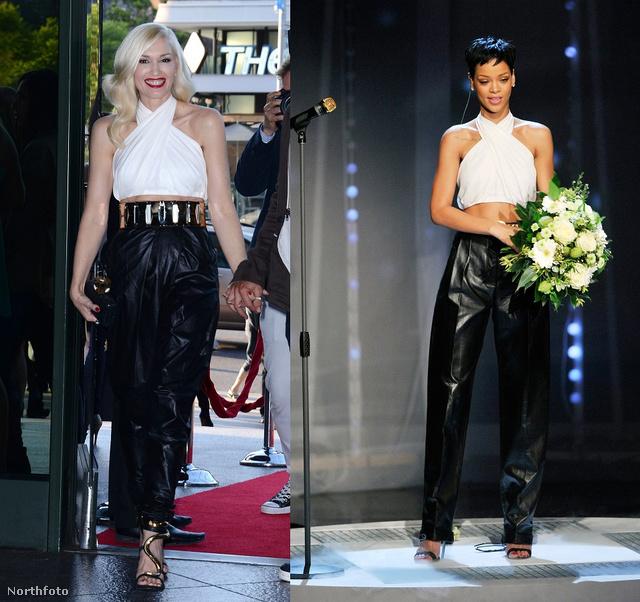 Gwen Stefani visszatérő vendég múlt hétről, most a modell helyett Rihannával mérkőzik meg.