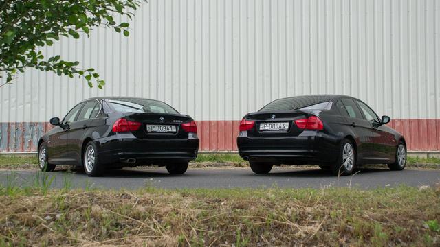 Többek között a hátsó lámpáról lehet felismerni a fészliftes E90-est