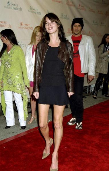 Kate Moss stílusosan tette vaddá a kis feketét.