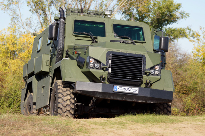 This is the Hungarian MRAP