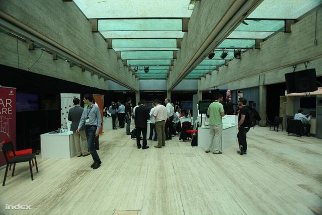 Az Akvárium jelenlegi belső tere